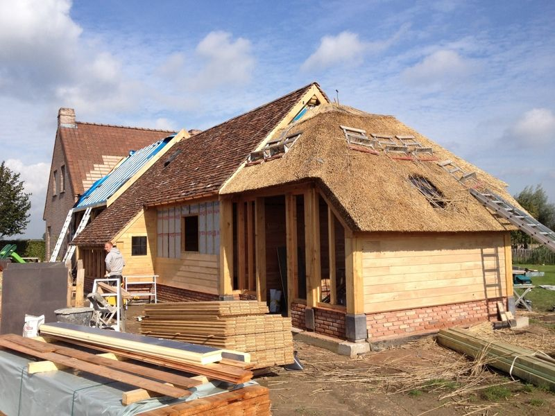 Home extension Anzegem