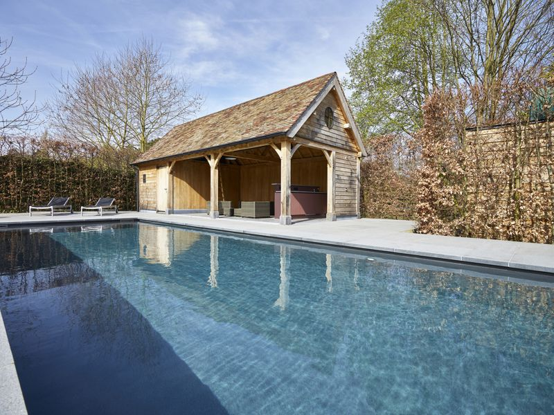 Poolhouse / guesthouse Sint Martens Latem