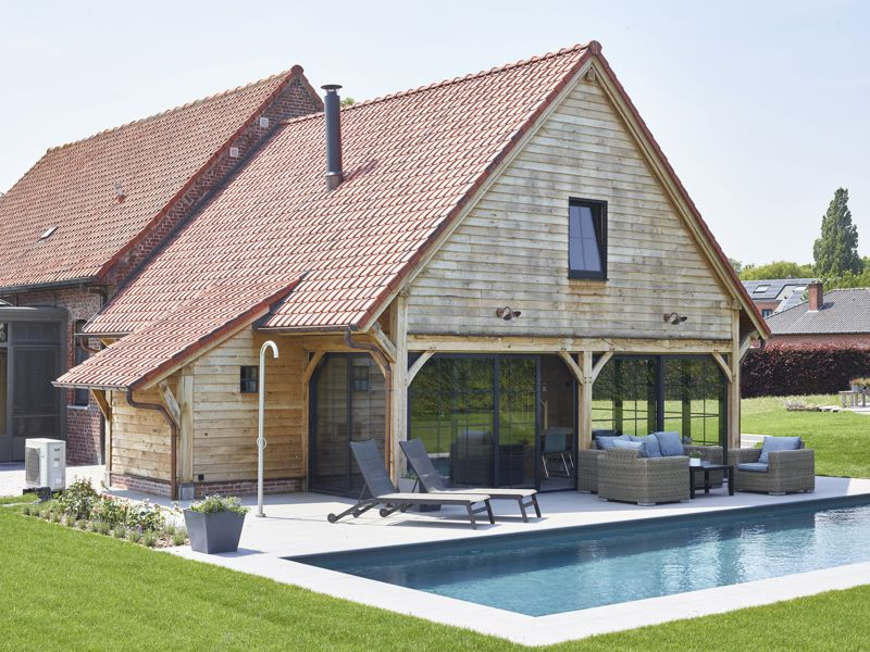 Poolhouse / guesthouse Kortrijk