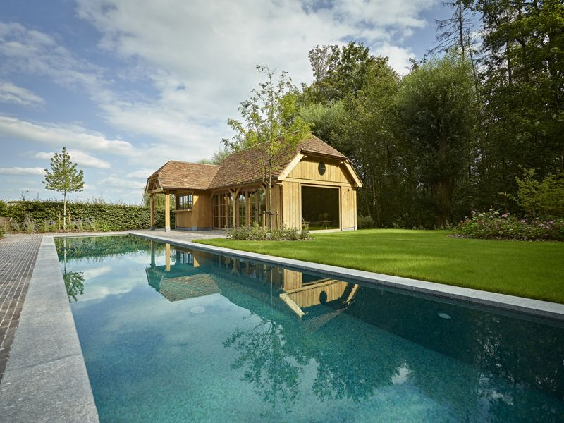 Poolhouse te Heule